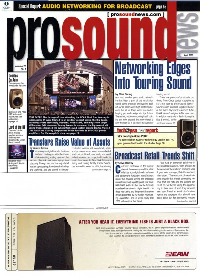 Apr 2006   |   Yahoo Music Systems Integration   |   Sound Broadcast