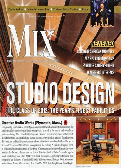 Jun 2012   |   Kill The Messenger   |   Mix Magazine Class of 2012