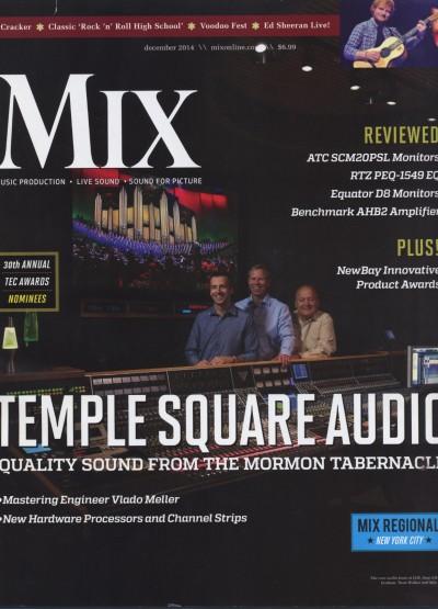 Eric Hart's Glaus Haus Studios Mix Magazine