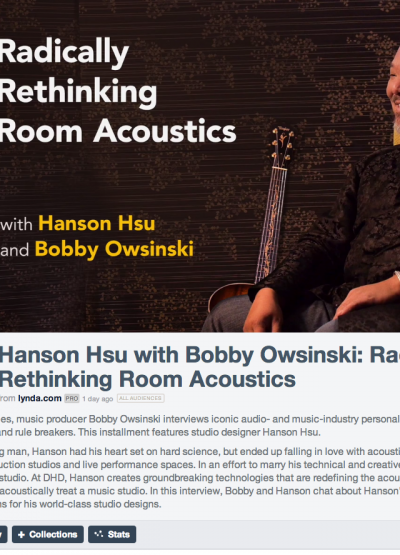 Radically Rethinking Room Acoustics