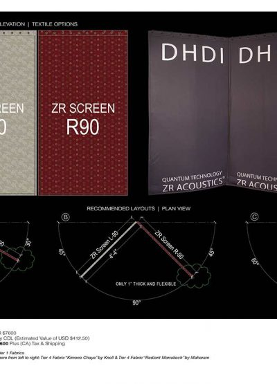 Delta H Design, Inc. Announces Pre-Designed ZR Pop-Up Studio Packages | Mix Magazine