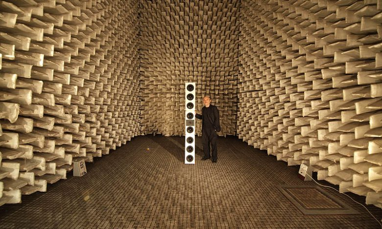 Speakers, Microphones, Anechoic Chambers + Acoustic Resolution